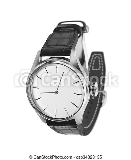 watch isolated on a white background - csp34323135