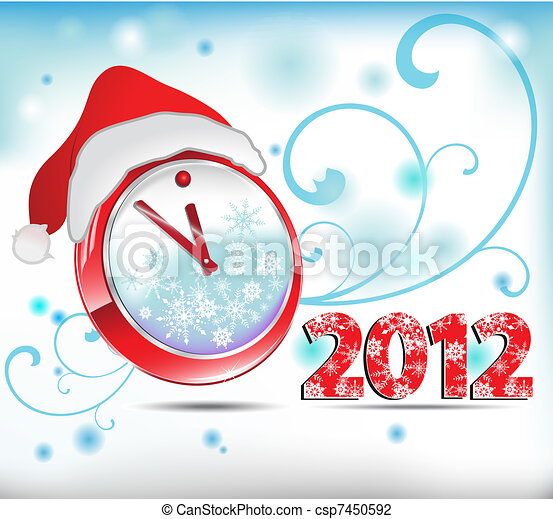 watch new year - csp7450592