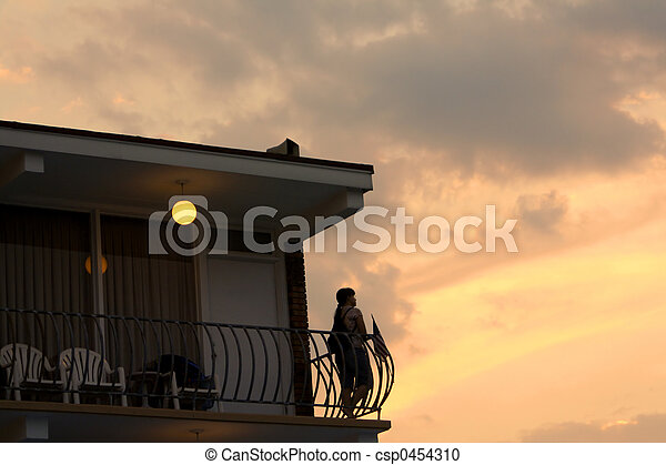 Watching The Sunset - csp0454310