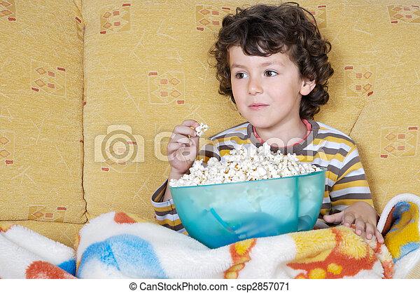 Watching TV - csp2857071