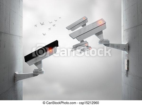 Watching You Watching Me - csp15212960