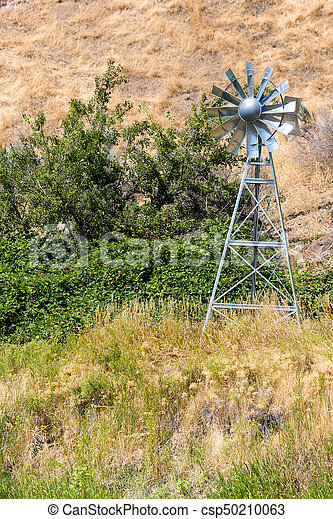 Water Aerating Windmill for Ponds and Lakes - csp50210063