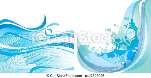 Water background  - csp7696026