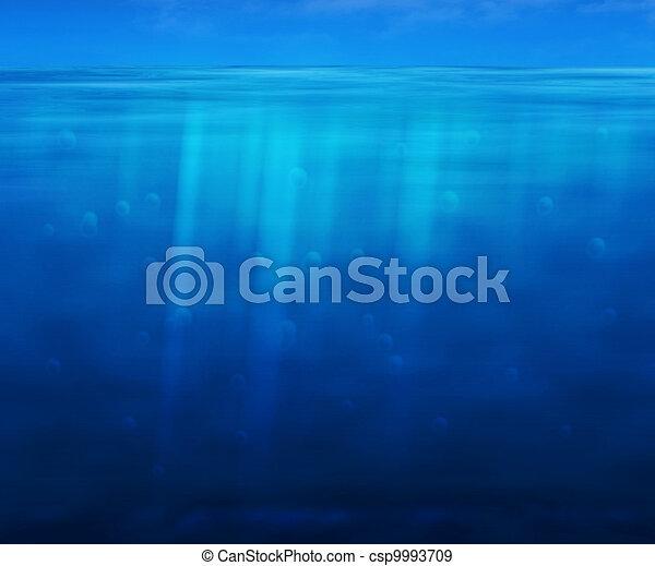 Water Background - csp9993709