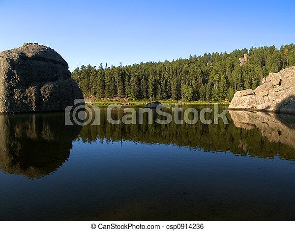 Water Between Stones - csp0914236