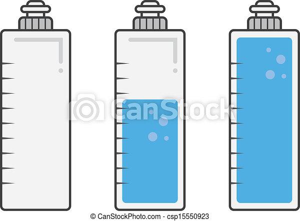 Water Bottle Fills  - csp15550923