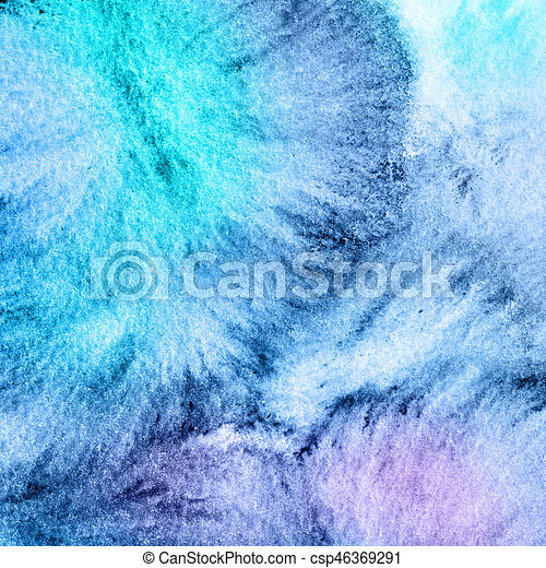 Water color abstract background - csp46369291