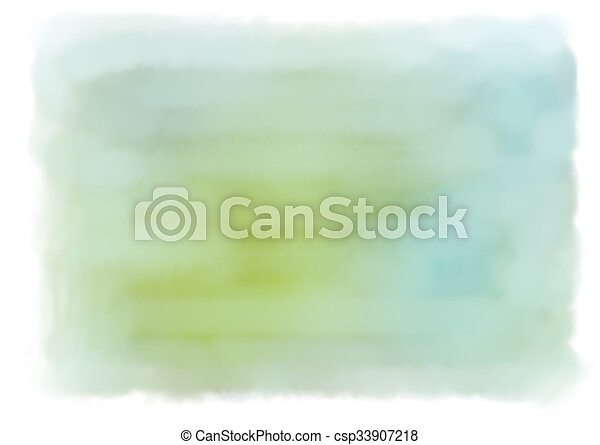 Water Color Background - csp33907218
