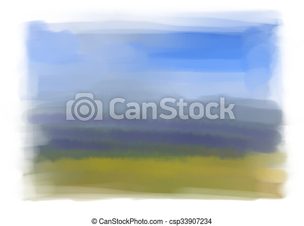 Water Color Background - csp33907234