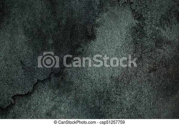 Water color dark background. - csp51257759