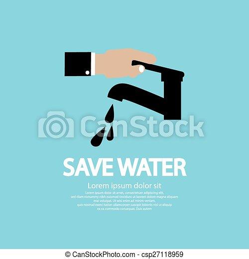Water Conservation. - csp27118959