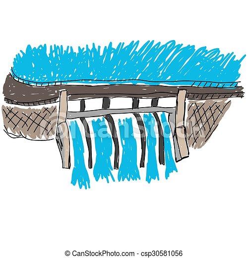 Water Dam image - csp30581056
