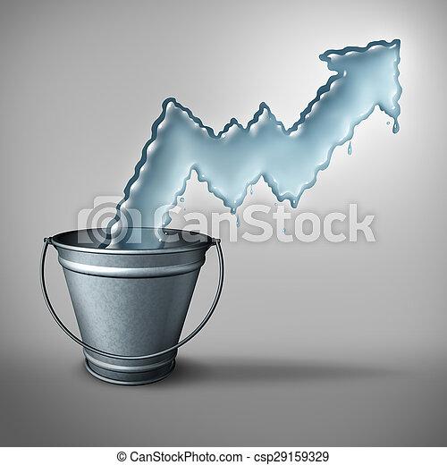Water Demand Concept - csp29159329
