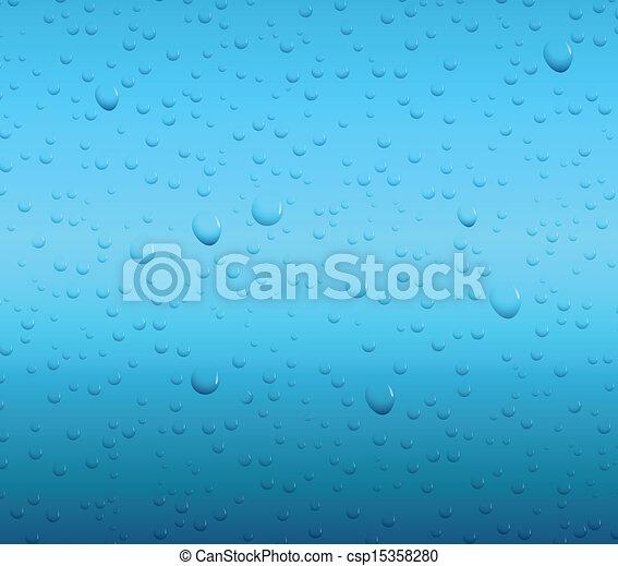 Water drop background - csp15358280