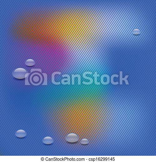 water drop background - csp16299145
