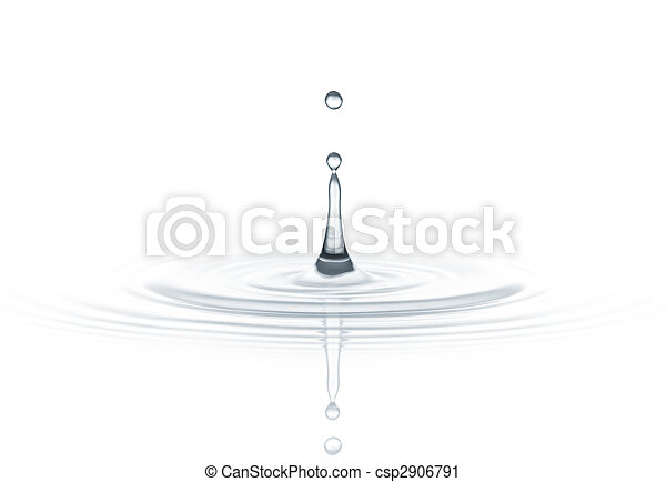 water drop - csp2906791