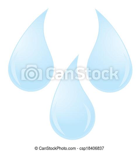 water drops - csp18406837