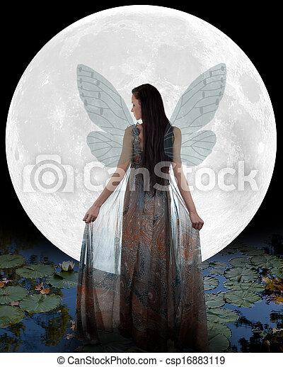 Water fairy - csp16883119