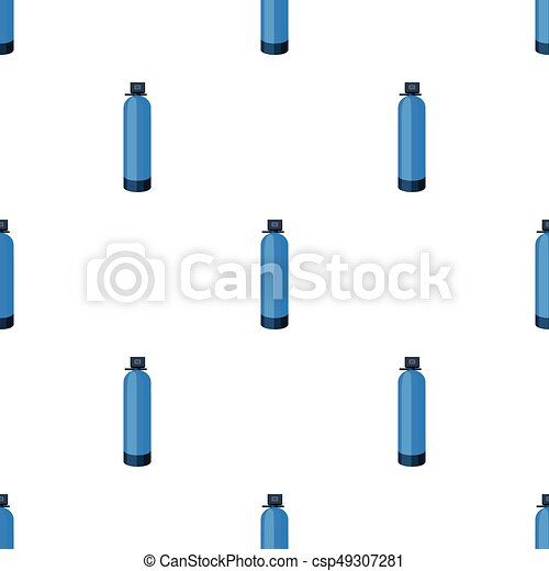 Water Filter Machine Icon In Cartoon Style Isolated On White
