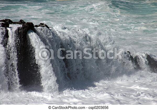 Water Flowing II - csp0203656