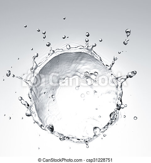 water, gespetter - csp31228751