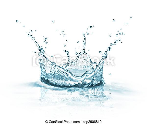 water, gespetter - csp2906810