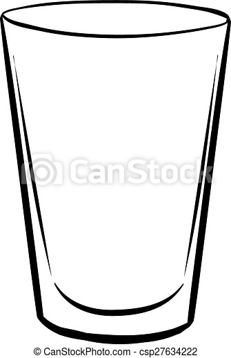 water glass single glass with no drink inside vector illustration rh canstockphoto com glass victorian lamp shades glass victoria tx