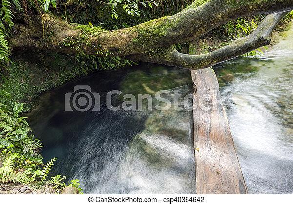 Water gushing - csp40364642