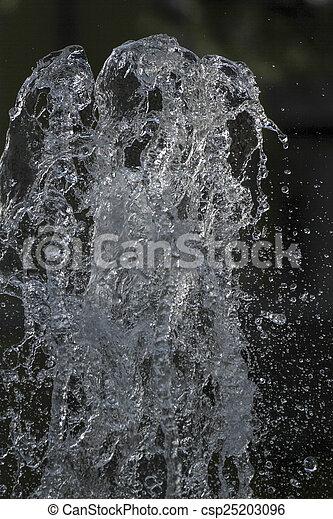 water gushing - csp25203096