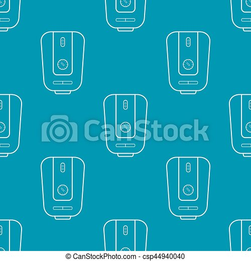 Water heater seamless pattern - csp44940040