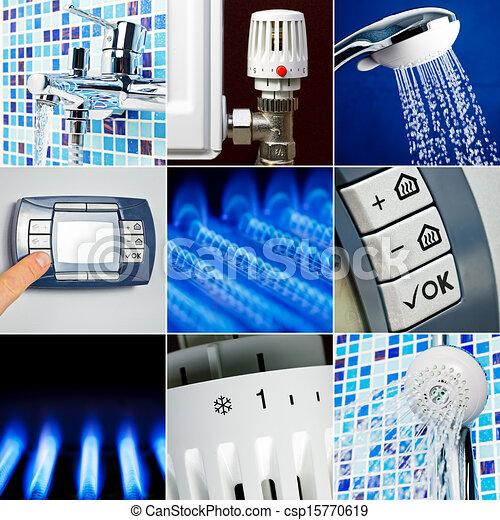 Water heating set - csp15770619