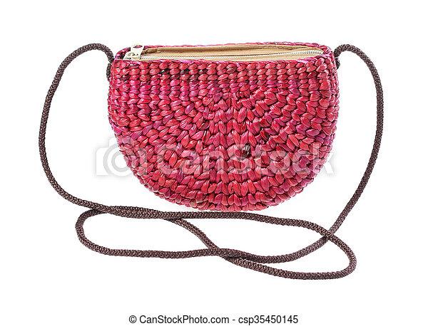 Water hyacinth bag - csp35450145