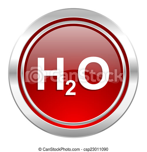 water icon, h2o sign - csp23011090