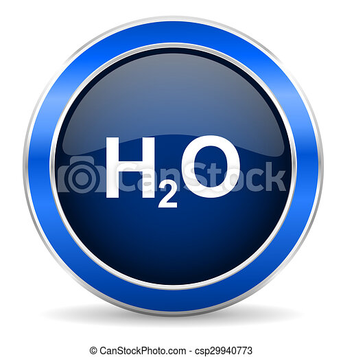 water icon h2o sign - csp29940773