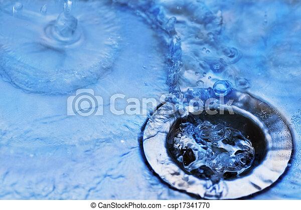 water in sink - csp17341770