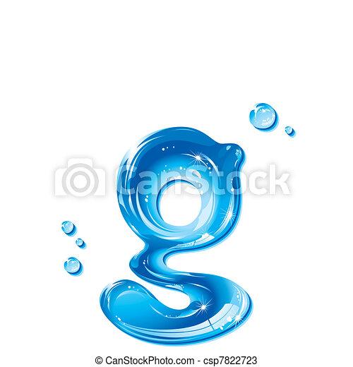 Water liquid letter small letter g liquid alphabet gel vectors water liquid letter small letter g csp7822723 altavistaventures Gallery