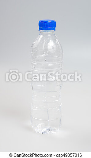 Water or Bottle of Water on a background. - csp49057016