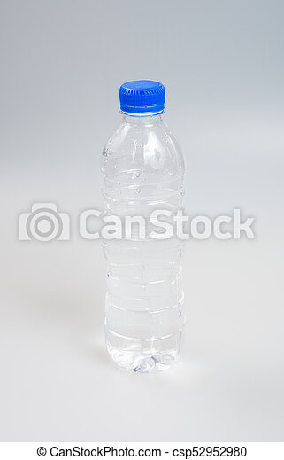 Water or Bottle of Water on a background. - csp52952980