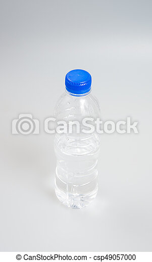 Water or Bottle of Water on a background. - csp49057000