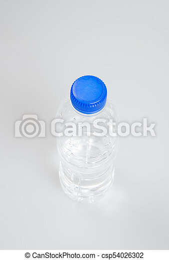 Water or Bottle of Water on a background. - csp54026302