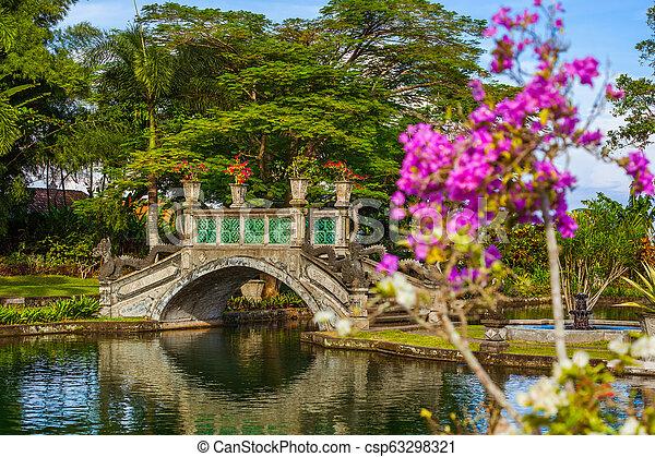Water Palace Tirta Ganga Bali Island Indonesia Water Palace Tirta