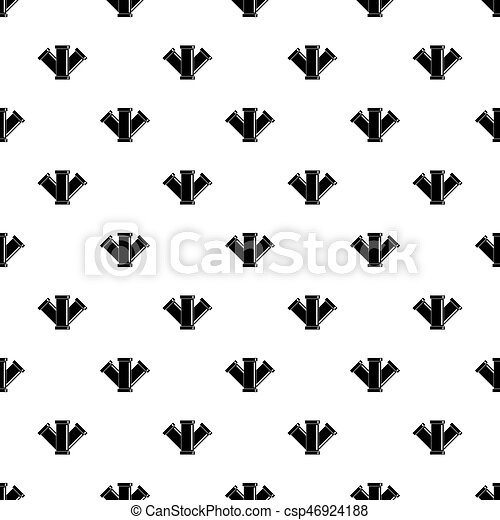 Water pipe pattern vector - csp46924188