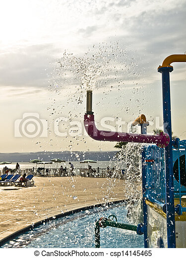 Water play - csp14145465