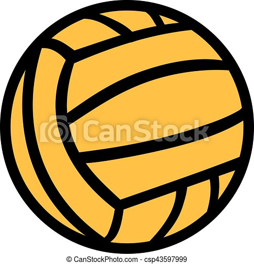 water polo ball in two colors eps vectors search clip art rh canstockphoto com