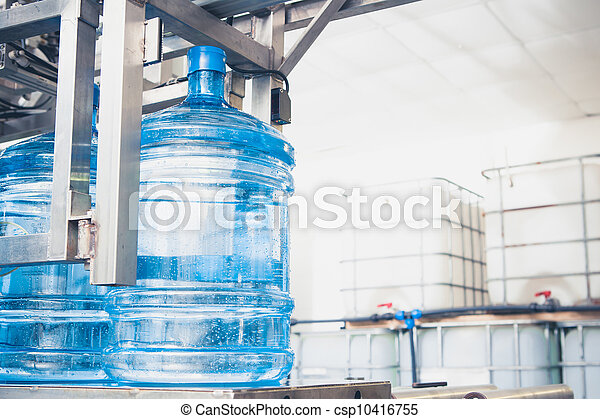 water production line - csp10416755