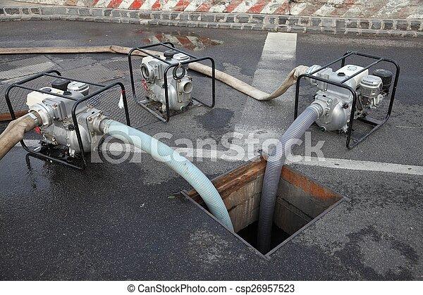 Water Pumping - csp26957523