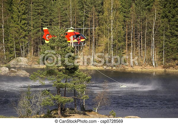 Water Rescue - csp0728569