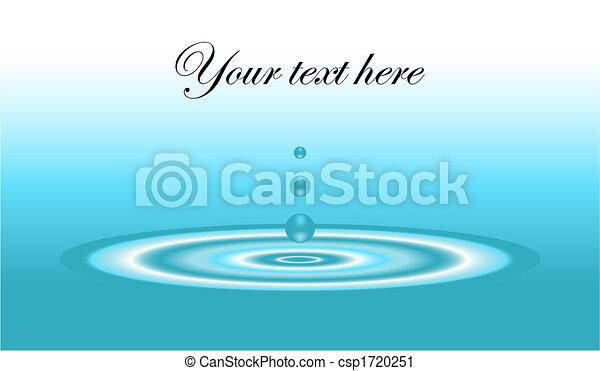 Water ripple - csp1720251