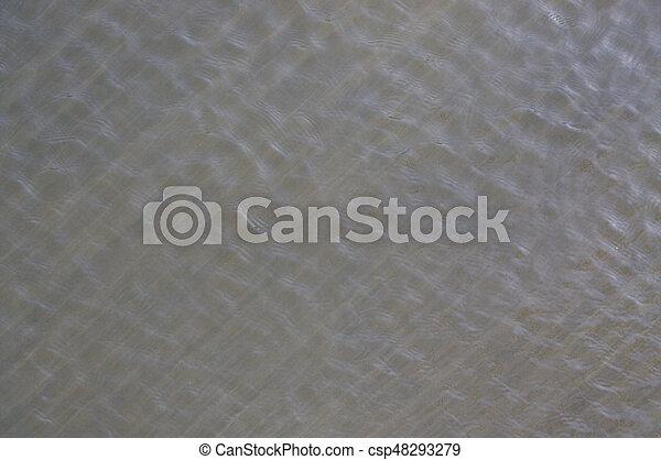 Water ripples - csp48293279