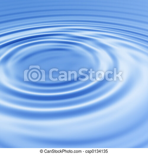 Water ripples - csp0134135